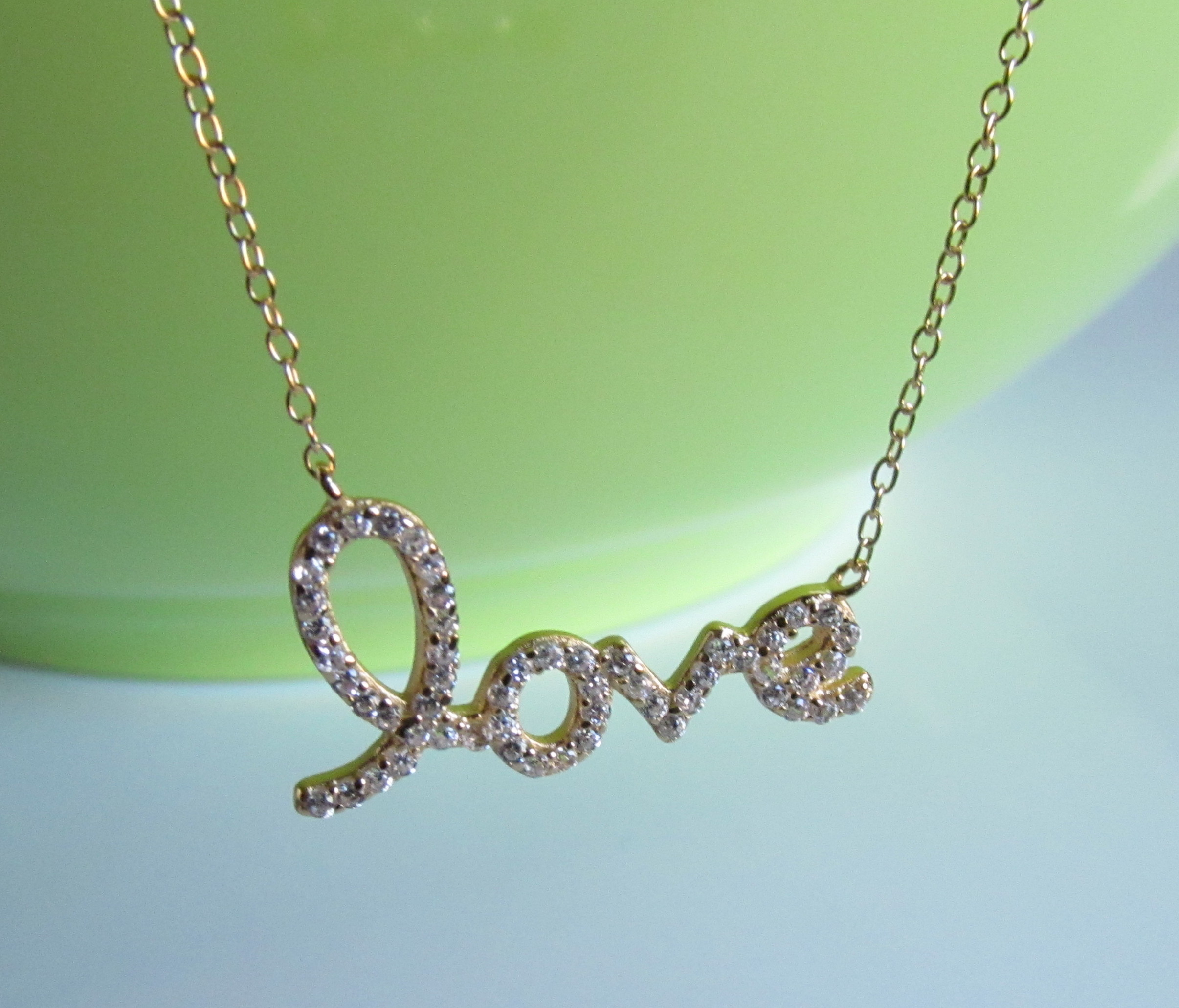 initai letter gold mini pendant necklace cz with mhd bk g heart collections plated silver initial children n sterling